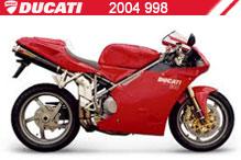 2004 Ducati 998 accesorios