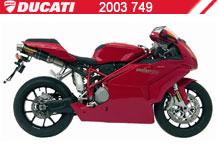 2003 Ducati 749 accesorios