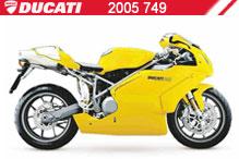 2005 Ducati 749 accesorios