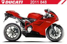 2011 Ducati 848 accesorios