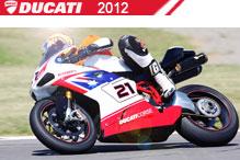 2012 Ducati accesorios