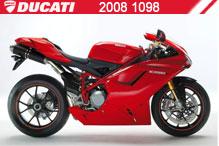 2008 Ducati 1098 accesorios