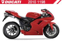 2010 Ducati 1198 accesorios