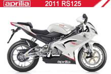 2011 Aprilia RS125 accesorios