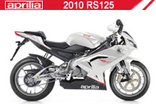2010 Aprilia RS125 accesorios