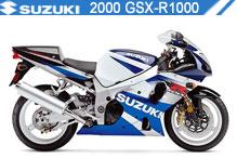 2000 Suzuki GSXR1000 accesorios