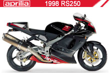 1998 Aprilia RS250 accesorios