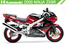2000 kawasaki Ninja ZX-9R accesorios