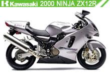 2000 kawasaki Ninja ZX-12R accesorios