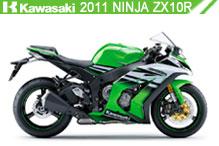 2011 Kawasaki Ninja ZX-10R accesorios