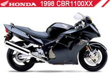 1998 Honda CBR1100XX accesorios