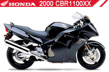 2000 Honda CBR1100XX accesorios
