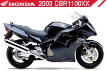 2003 Honda CBR1100XX accesorios