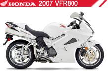 2007 Honda VFR800 accesorios