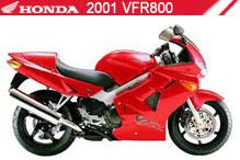 2001 Honda VFR800 accesorios
