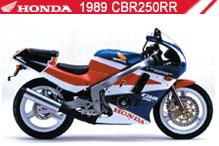 1989 Honda CBR250RR accesorios