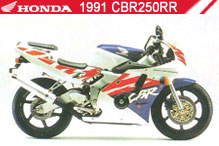 1991 Honda CBR250RR accesorios