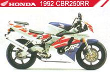 1992 Honda CBR250RR accesorios