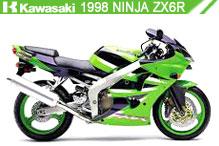1998 Kawasaki Ninja ZX-6R accesorios