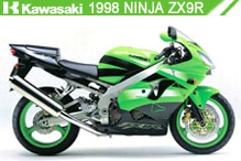 1998 Kawasaki Ninja ZX-9R accesorios