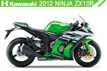 2012 Kawasaki Ninja ZX-10R accesorios
