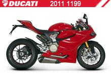 2011 Ducati 1199 accesorios
