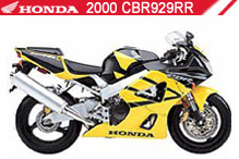2000 Honda 929 accesorios