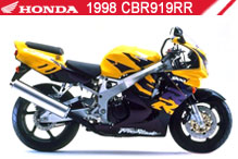 1998 Honda CBR919RR accesorios