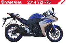 2014 Yamaha YZF-R3 accesorios