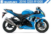 2016 Suzuki GSXR1000 accesorios