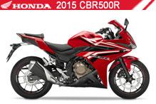 2015 Honda CBR500R accesorios