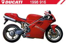 1998 Ducati 916 accesorios