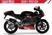 2001 Aprilia RS125 accesorios