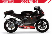 2004 Aprilia RS125 accesorios