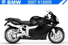 2007 BMW K1200S accesorios