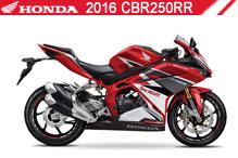 2016 Honda 250RR accesorios