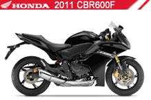 2011 Honda CBR600F accesorios