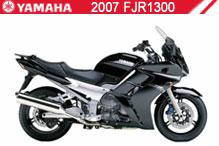 2007 Yamaha FJR1300 accesorios