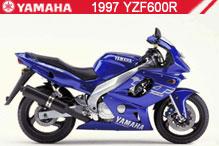 1997 Yamaha YZF600R accesorios