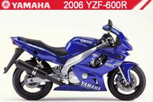 2006 Yamaha YZF600R accesorios