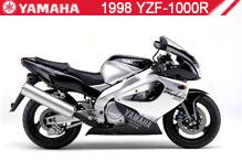 1998 Yamaha YZF1000R accesorios