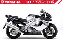 2003 Yamaha YZF1000R accesorios
