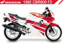 1992 Honda CBR600F2 accesorios