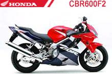 CBR600F2 Carenado