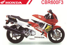 CBR600F3 Carenado