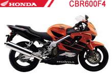 CBR600F4 Carenado