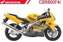 CBR600F4i Carenado