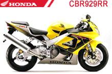 CBR929RR Carenado