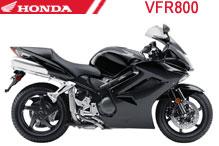 VFR800 Carenado