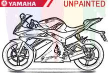 Yamaha Carenado Sin Pintar